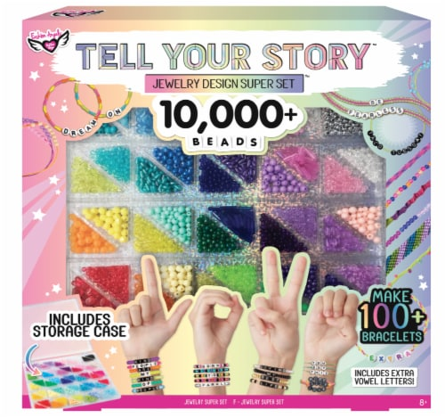 Fashion Angels Tell Your Story Jewelry Design Super Set Perspective: front