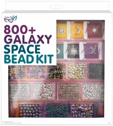 Fashion Angels Galaxy Space Bead Kit 800 Piece Perspective: front
