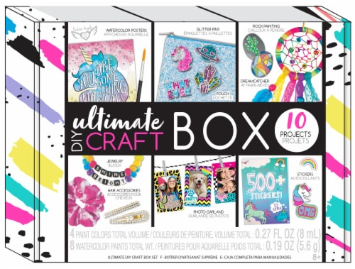 Fashion Angels Ultimate D.I.Y. Craft Box Perspective: front