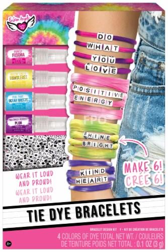 Fashion Angels Tie-Dye Bracelets Kit Perspective: front