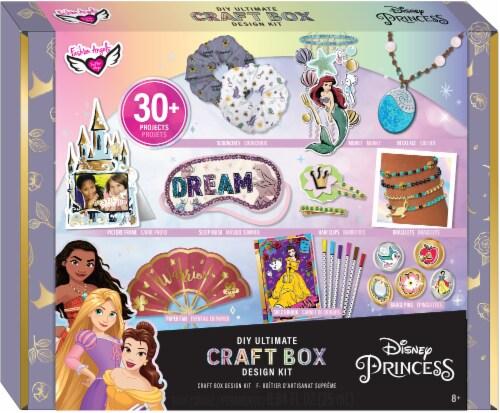 Fashion Angels Disney Princess DIY Ultimate Craft Box Design Kit Perspective: front