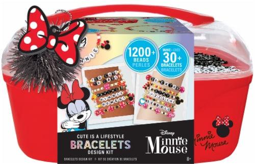 Fashion Angels Disney Minnie Mouse DIY Bracelets Design Kit Perspective: front