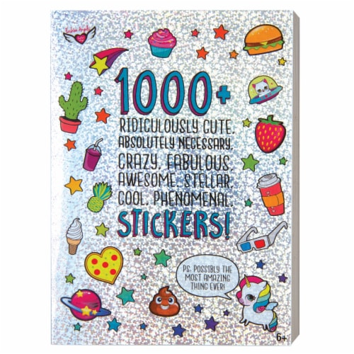 Fashion Angels 1000+ Ridiculously Cute Stickers Perspective: front