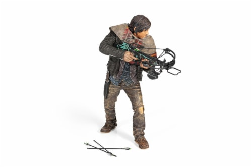 The Walking Dead Daryl Dixon Deluxe Poseable Figure | Measures 10 Inches Tall Perspective: front