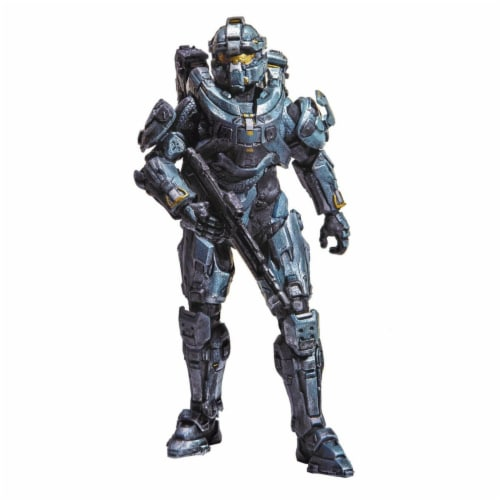 """Halo 5 Guardians Series 1 6"""" Action Figure Spartan Fred Perspective: front"""