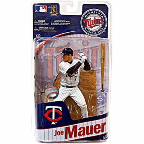 Minnesota Twins Joe Mauer McFarlane Figure - Playmaker - Single Perspective: front