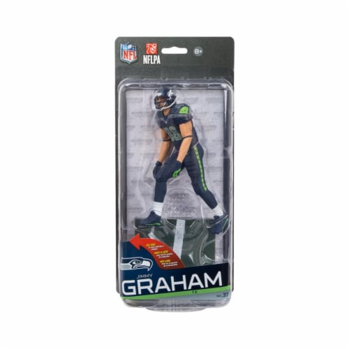 Seattle Seahawks McFarlane NFL Series 37 Figure: Jimmy Graham Perspective: front