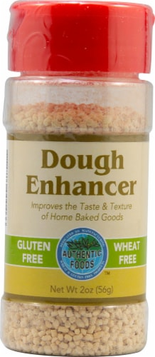 Authentic Foods  Dough Enhancer Gluten Free Perspective: front