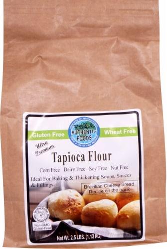 Authentic Foods  Tapioca Flour Perspective: front
