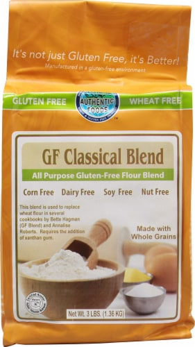 Authentic Foods  Gluten Free Classical Blend Perspective: front