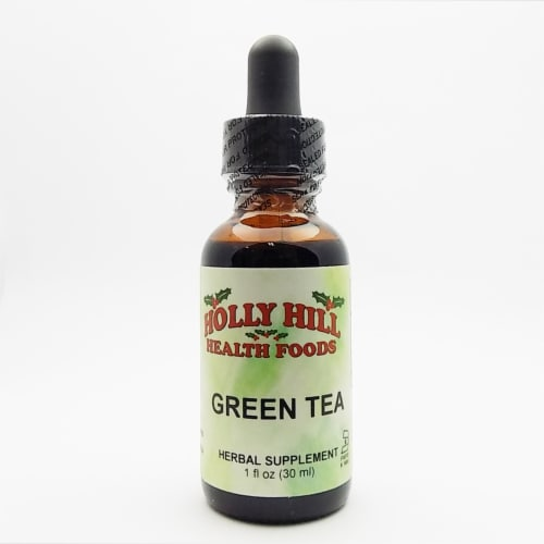 Holly Hill Health Foods, Green Tea, 1 Ounce Perspective: front