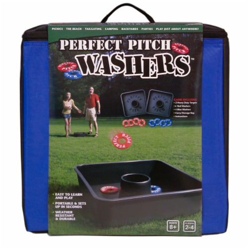 University Games UG-53913 Perfect Pitch Washers Game Perspective: front