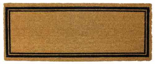 Entryways Coir Border Estate Doormat Perspective: front