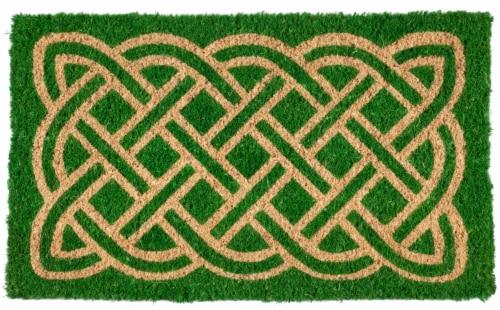 Entryways Coir Celtic Doormat Perspective: front