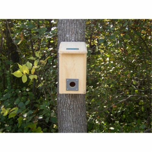 Coveside Small Winter Roosting House Bird Roost Box Perspective: front