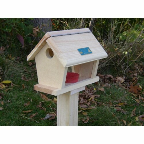 Coveside Small Bluebird Feeder Perspective: front