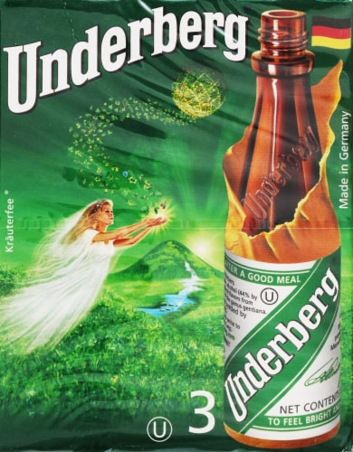 Underberg Natural Herb Bitters Perspective: front