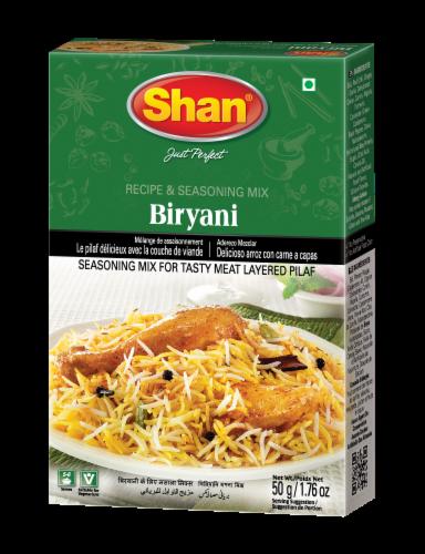 Shan Biryani Recipe & Seasoning Mix Perspective: front
