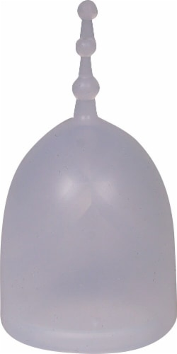 GladRags XO Flo Reusable Menstrual Cup Perspective: front