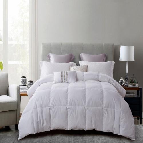 Martha Stewart Feather Down Fiber Comforter - White Perspective: front