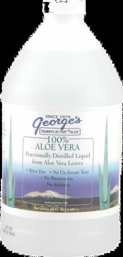 George's Aloe Vera Liquid Perspective: front