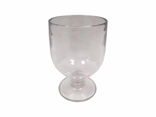 TarHong Salud Stackable Goblet - Clear Perspective: front