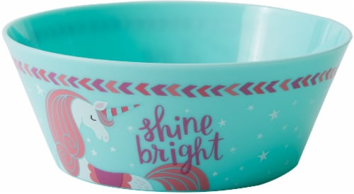 TarHong Unicorn Cereal Bowl - Turquoise Perspective: front