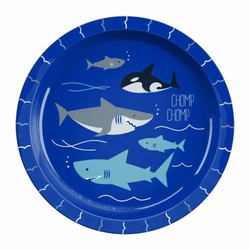 TarHong Sharks Rimmed Plate Perspective: front