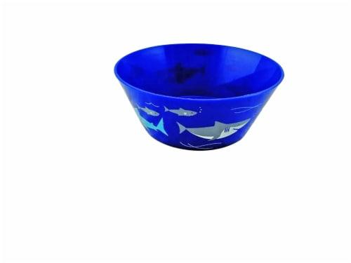 TarHong Sharks Cereal Bowl - Blue Perspective: front