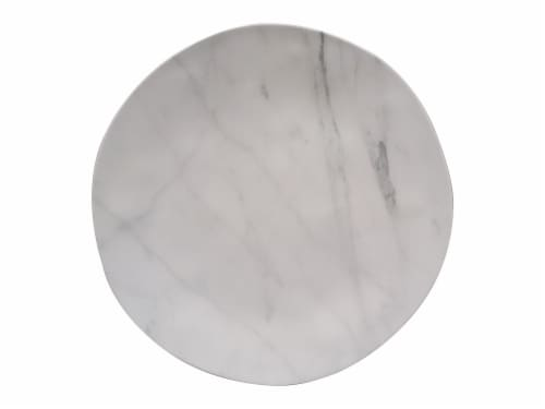 TarHong Organic Dinner Plate - Coupe Marble Perspective: front