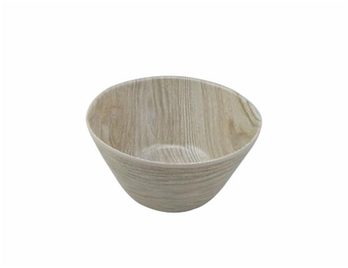 TarHong Organic French Oak Melamine Cereal Bowl Perspective: front