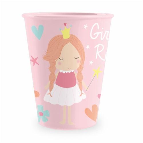 TarHong Girls Rule Tumbler - Pink Perspective: front