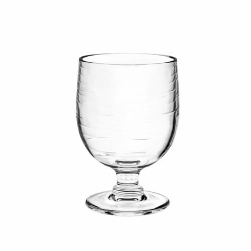 Tarhong PSLGB105GCC 10.5 oz Cordoba Stacking Goblet, Set of 6 - Clear Perspective: front