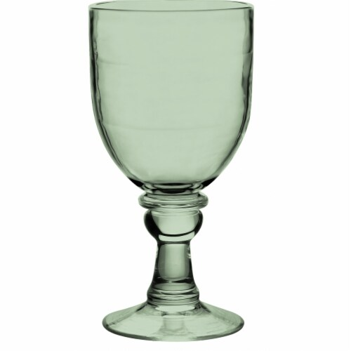 Tarhong PSLGB184GLS 18.4 oz Cordoba Goblet Recycled, Set of 6 - Green Perspective: front