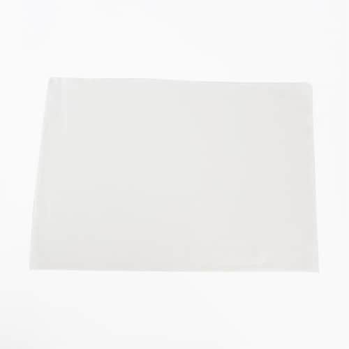 Saro Lifestyle 13009.I1420B 14 x 20in. Rectangular Stone Washed Linen Table Placemats, Ivory Perspective: front