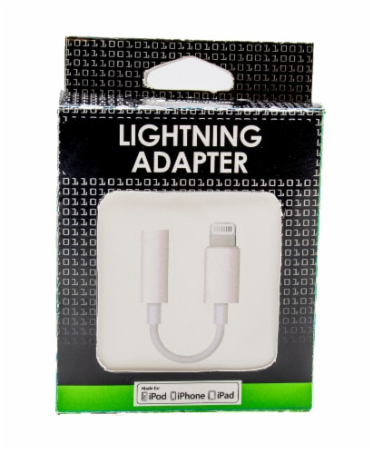 James Paul Lighting Adapter - White Perspective: front