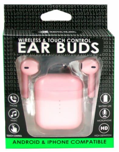 True Wireless Ear Buds Perspective: front