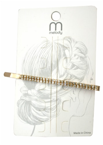 Melody Ladies' Crystal Hair Pin Perspective: front