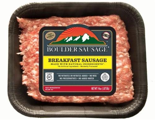 Boulder Sausage Bulk Breakfast Sausage Perspective: front
