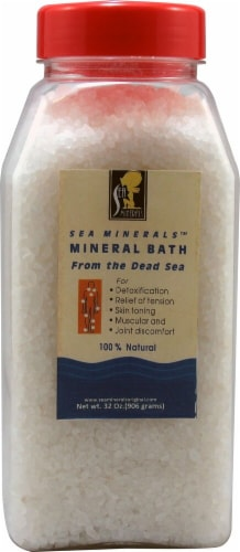 Sea Minerals  Bath Salts from The Dead Sea Perspective: front