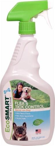 EcoSmart  Flea & Tick Control Spray-on-Dog Perspective: front