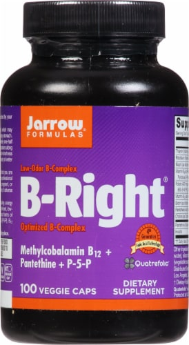 Jarrow Formulas B-Right Complex Capsules Perspective: front
