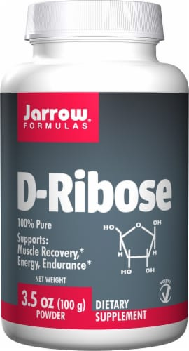 Jarrow D-Ribose Powder Perspective: front