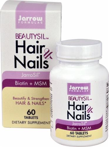 Jarrow Formulas  BeautySil™ Hair & Nails Perspective: front