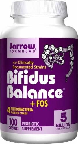 Jarrow Formulas  Bifidus Balance® plus FOS Perspective: front