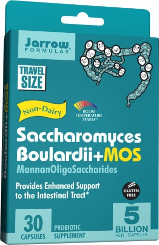 Jarrow Formulas  Saccharomyces Boulardii + MOS Perspective: front