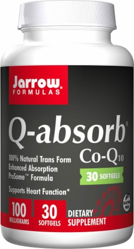 Jarrow Formulas  Q-absorb® Co-Q10 Perspective: front