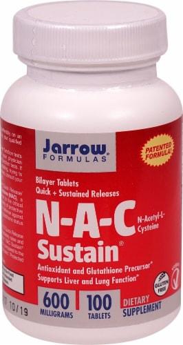 Jarrow Formulas  N-A-C Sustain® Perspective: front
