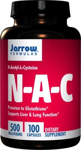 Jarrow NAC Capsules Perspective: front