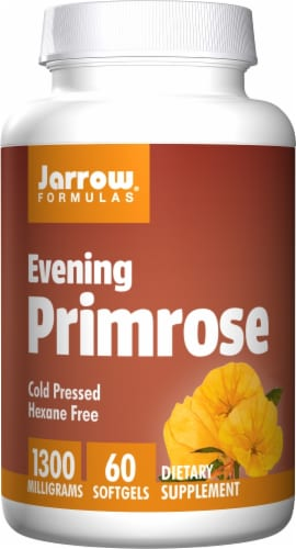 Jarrow Formulas Evening Primrose Dietary Supplement 1300mg Perspective: front